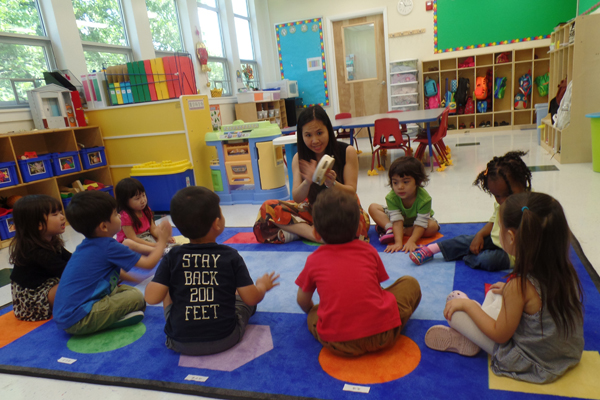 early childhood all Chinese
